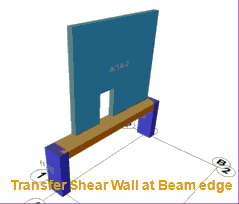 Transfer Shear Wall